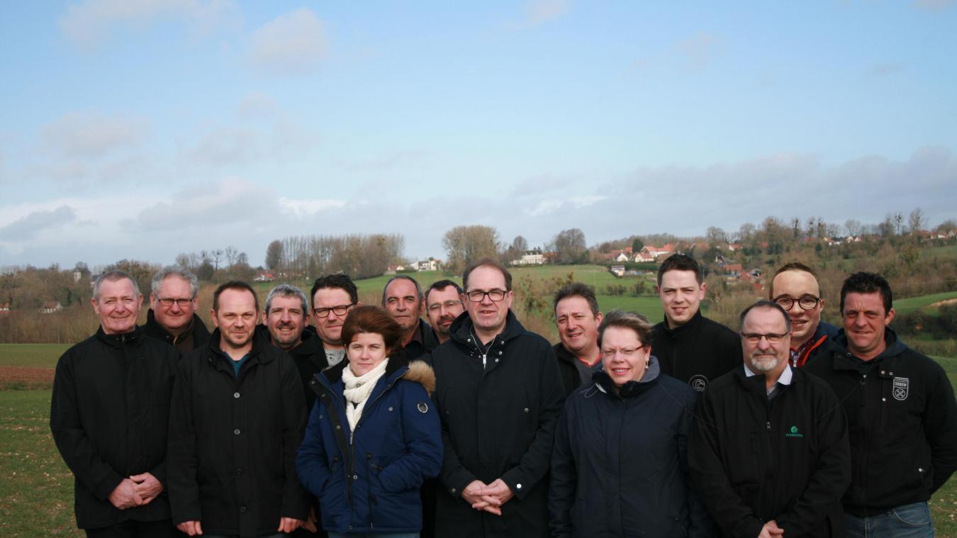 Grégory Leroy et son équipe « Ensemble, redynamisons notre village » se retrouve face la liste du maire sortant Françoise Thélu.