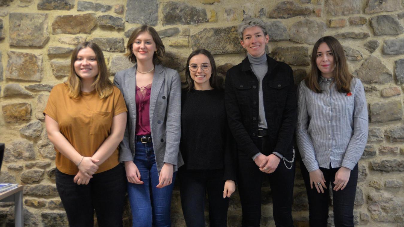 Ces cinq filles sont à l'origine du salon eco-vintage qui a lieu le 15 mars.