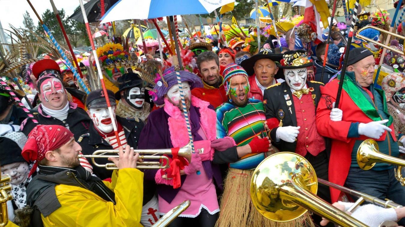 Cette années, les masquelours ne pourront pas profiter du carnaval de Bergues.