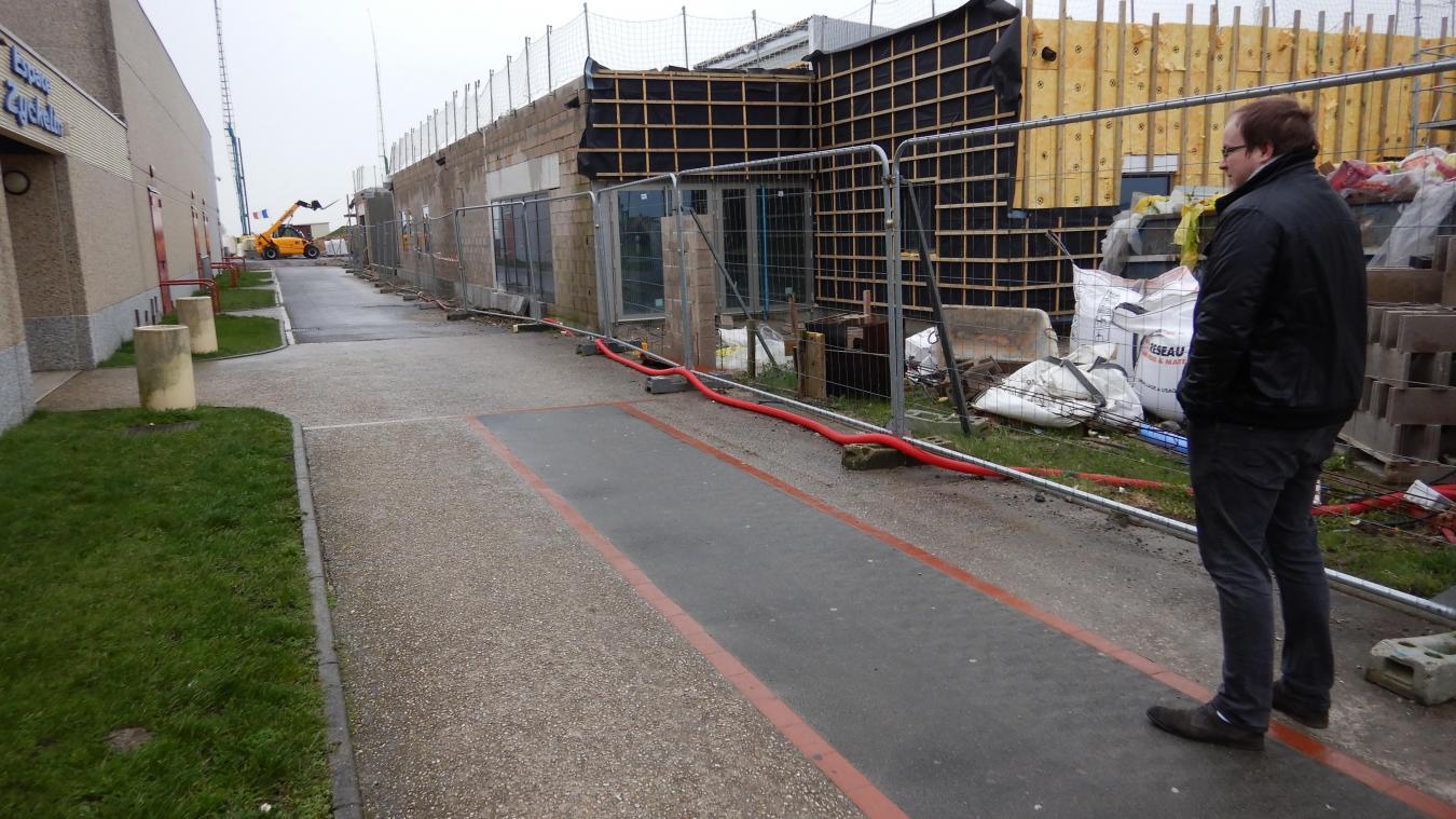 Dans quelques mois, une fois les travaux du nouveau dojo terminés, à proximité de l'Espace Zyckelin, les cours y seront dispensés.