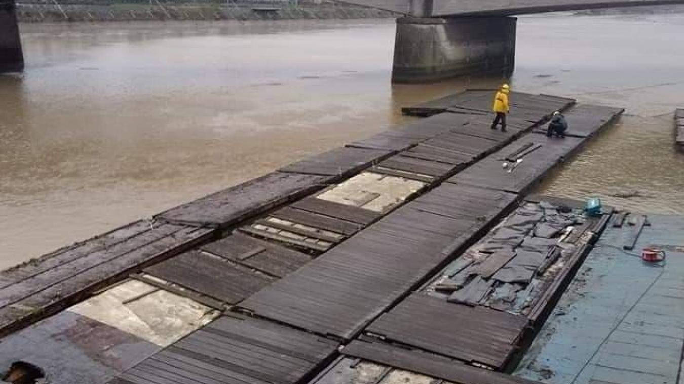 Un grand chantier est en cours sur les berges de la Liane
