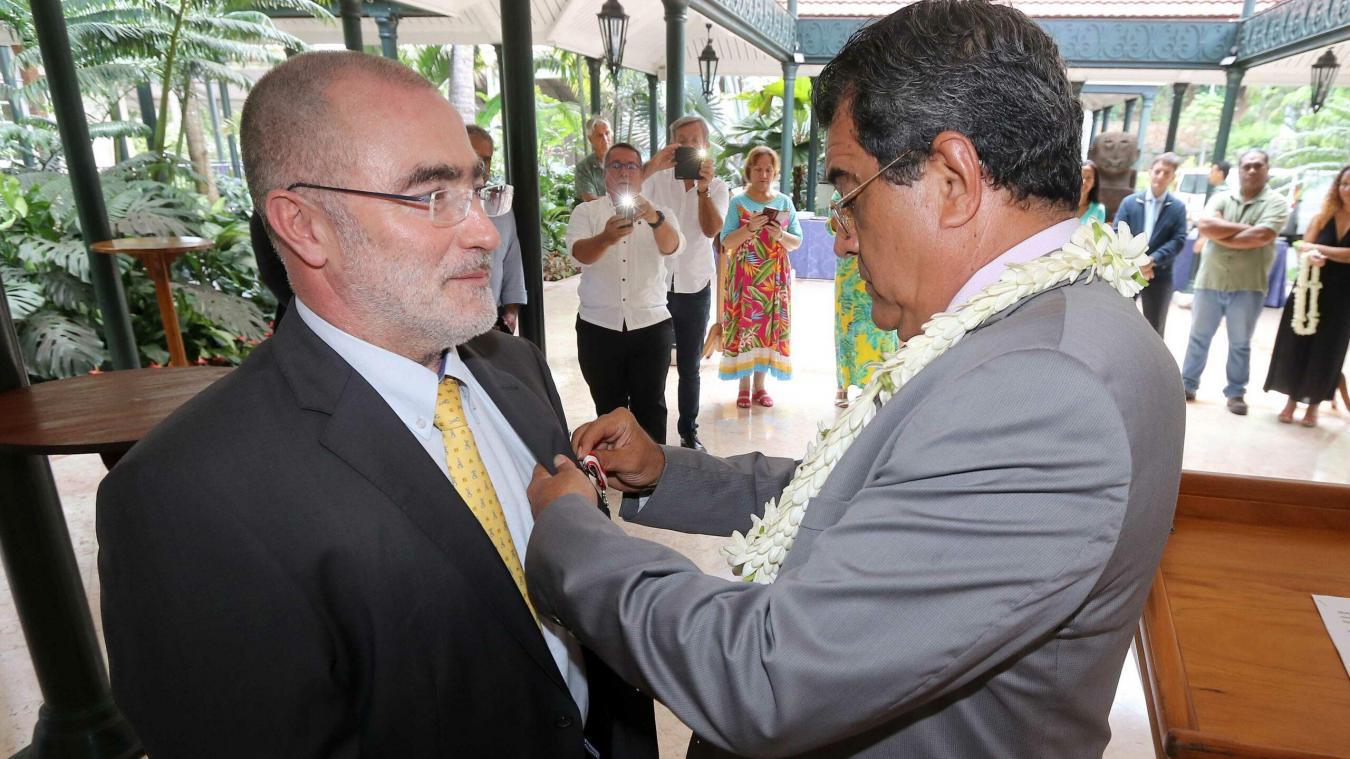 Dunkerque : Dominique Daudruy devient Chevalier de Tahiti Nui