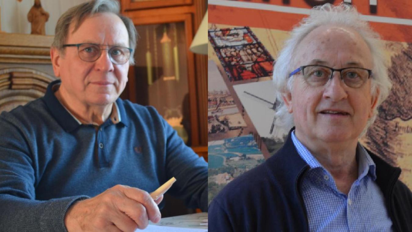 Jean-Noël Penez (à gauche) fera face à Daniel Deschodt lors des élections des 15 et 22 mars.