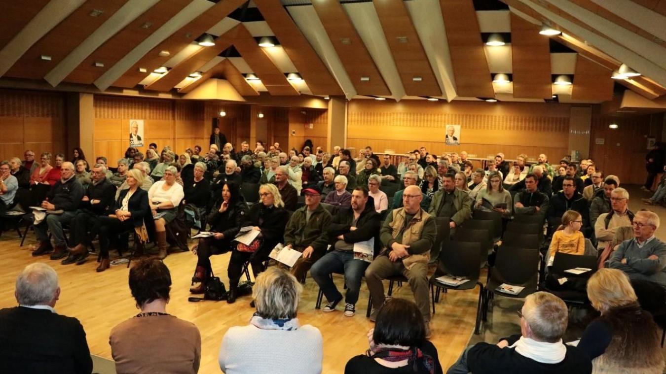 Présidents d'associations, commerçants et sympathisants étaient présents au Kursaal.