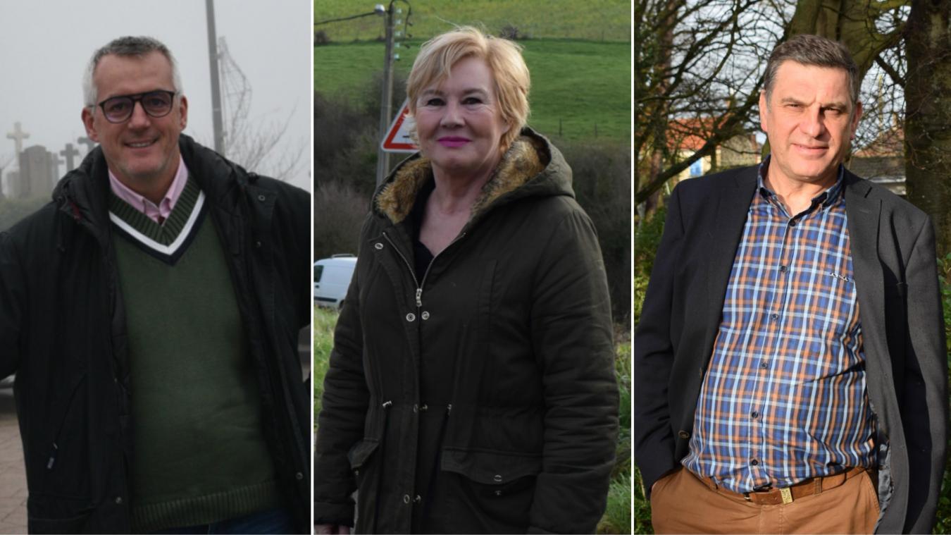 Raphaël Jules, Pascale Lebon et Régis Altazin sont candidats.