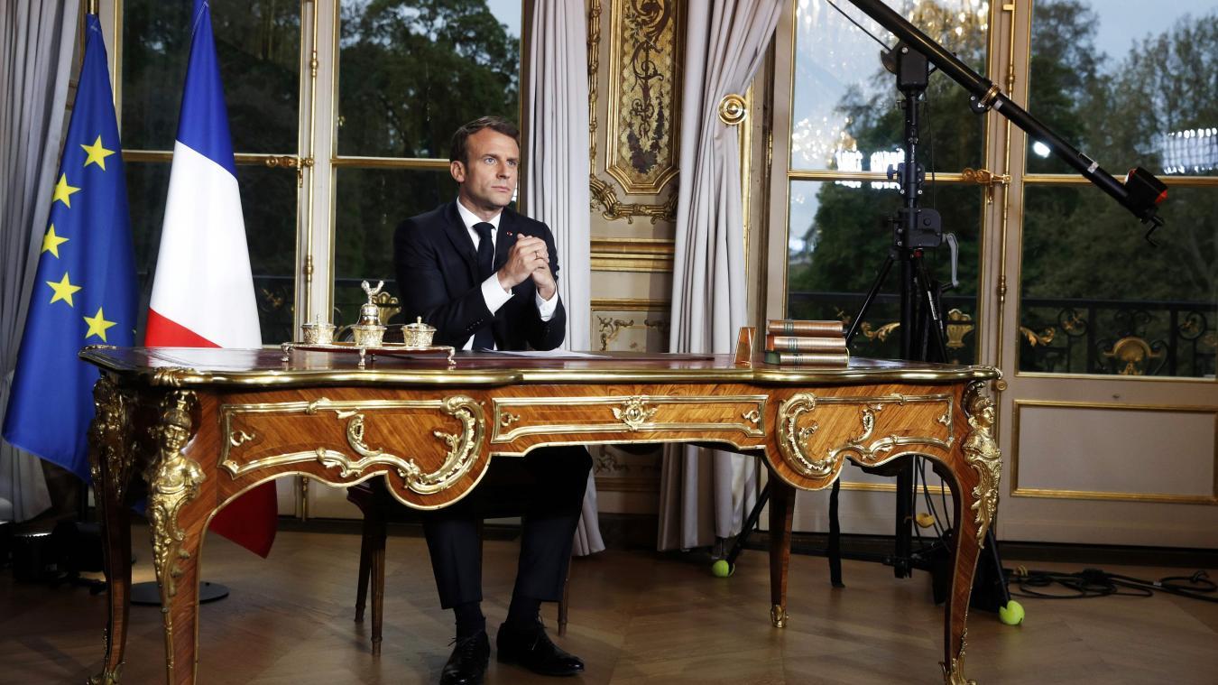 Le président Emmanuel Macron a annoncé jeudi des mesures « exceptionnelles et massives » pour « protéger les salariés et les entreprises » face à l'épidémie du coronavirus.