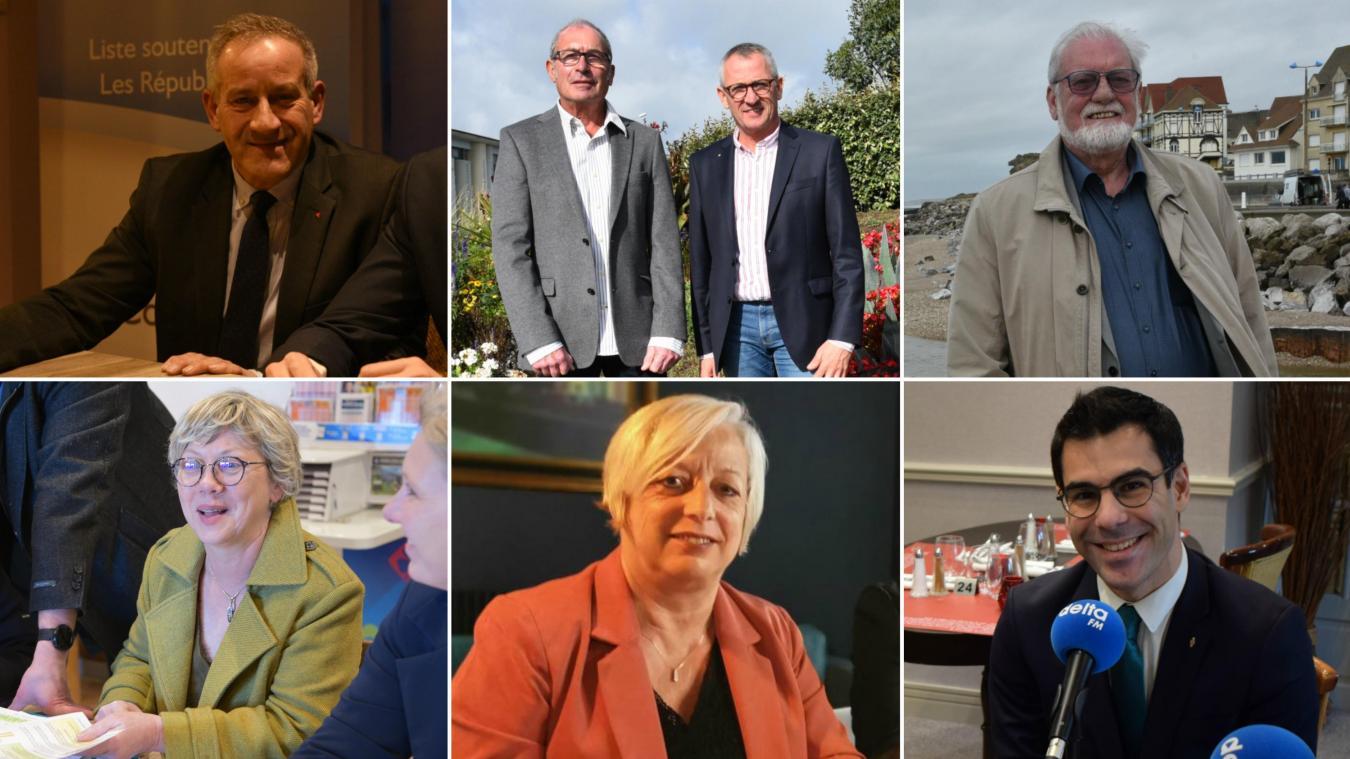 Six listes sont déclarées pour ce premier tour des élections municipales.