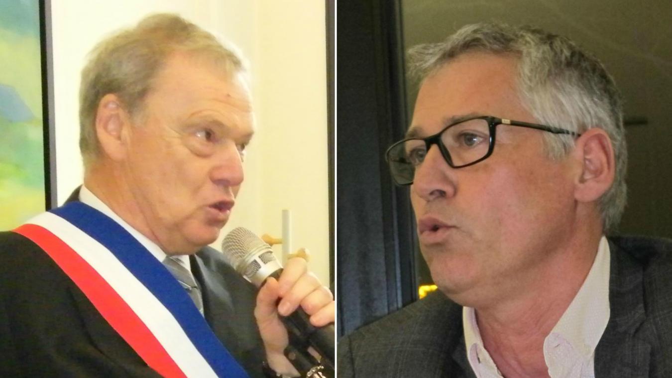 Deux listes se présentent à Wimille  : celles du maire, Antoine Logié, et d'Yves Dubrulle, dans l'opposition.