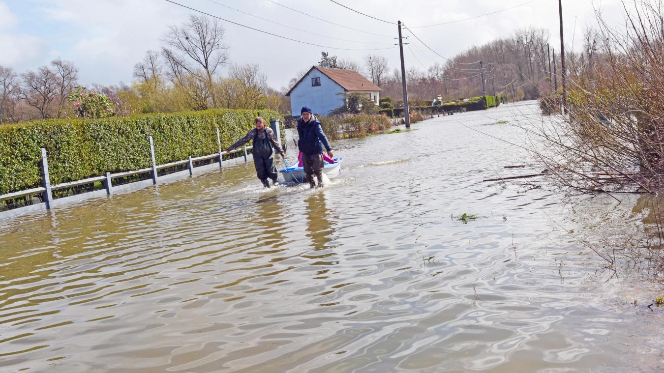 Attin : des foyers sans électricité à cause des inondations