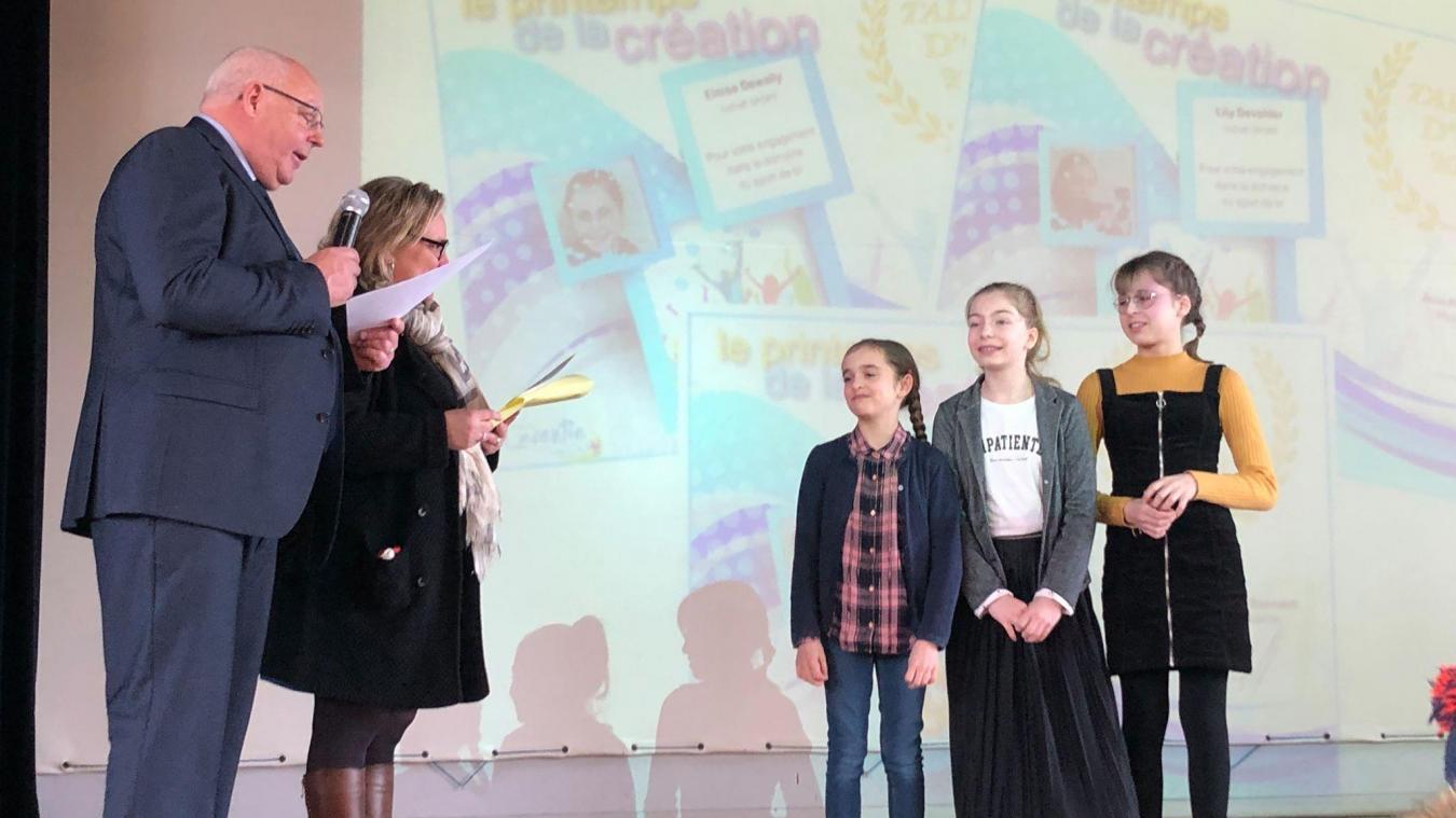 La ville de Laventie fière de ses jeunes talents