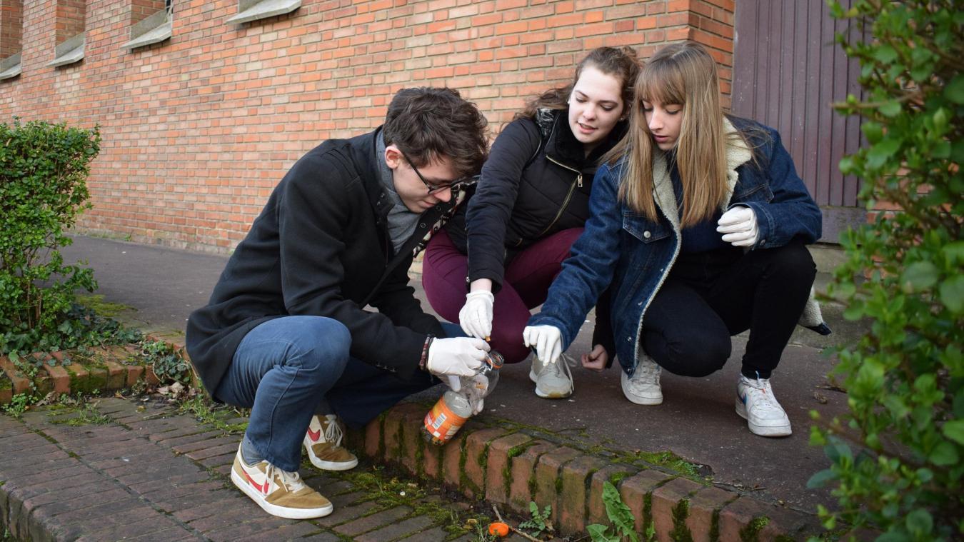 Par leur projet scolaire, Théo, Tonya et Emma auront le sentiment d'avoir aidé deux catégories de personnes et de protéger la planète.