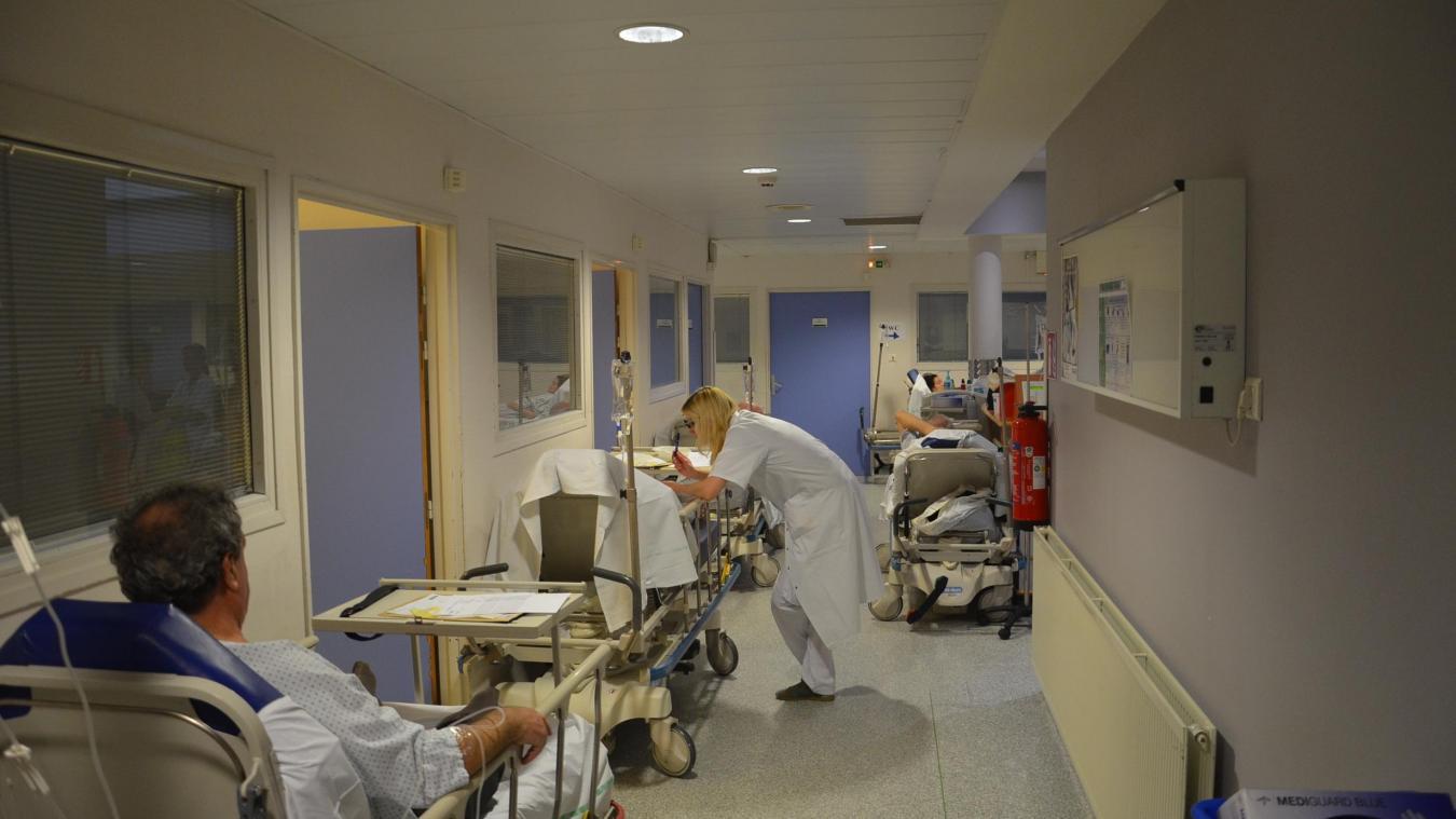Le service des urgences du Centre hospitalier de Dunkerque est désormais configuré en deux filières. (Photo d'illustration)