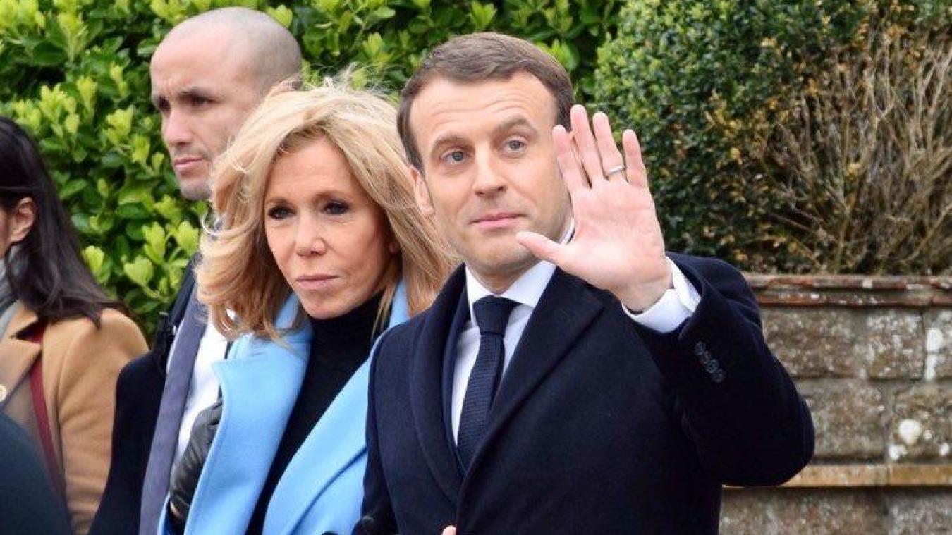 Emmanuel Macron a voté au Touuqet ce dimanche 15 mars vers 12h30.