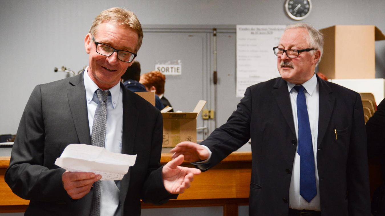 Municipales 2020: Jean-Luc Demaire l'emporte à Racquinghem