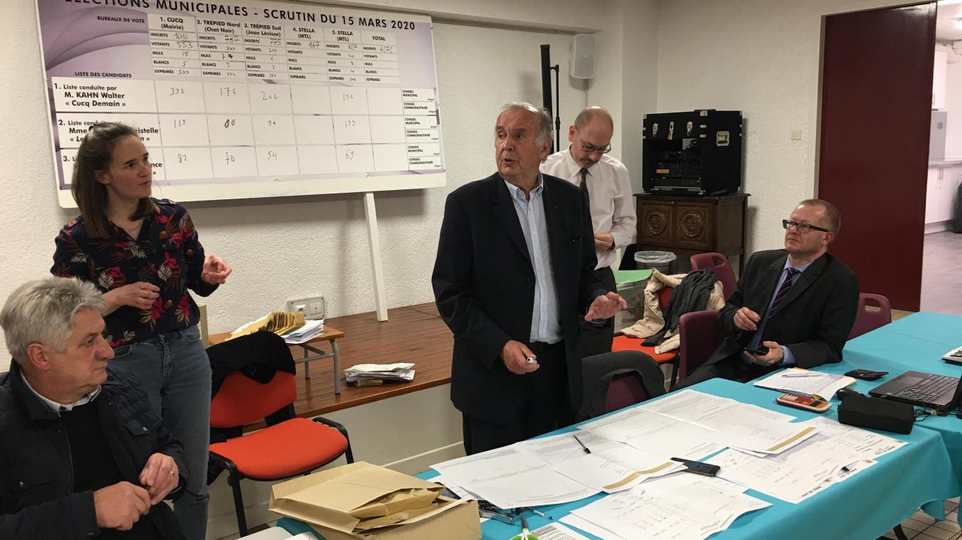 Municipales 2020 : à Cucq, Walter Kahn réélu au premier tour sans trembler