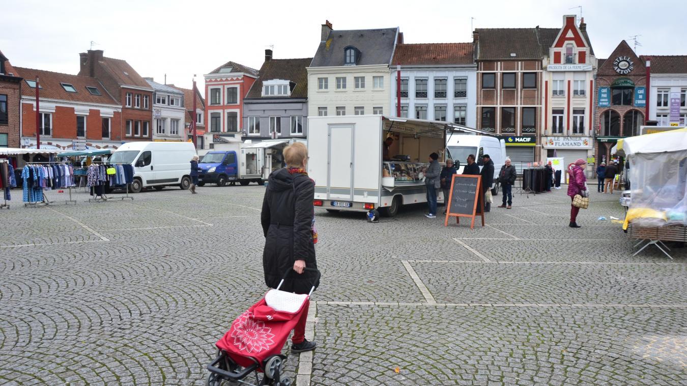 Au marché d'Hazebrouck, le temps semble suspendu