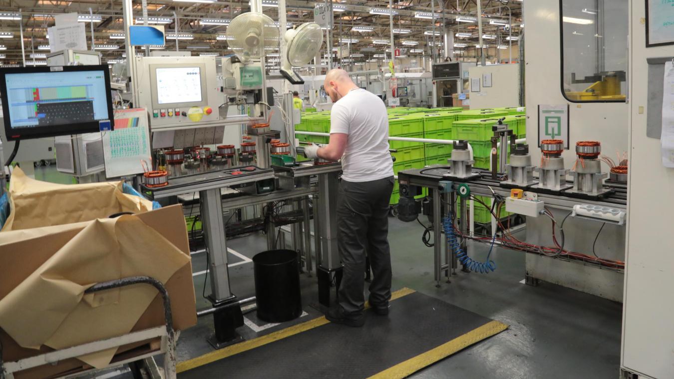 Valeo Étaples est spécialisée dans la productions de pièces pour les moteurs automobile.