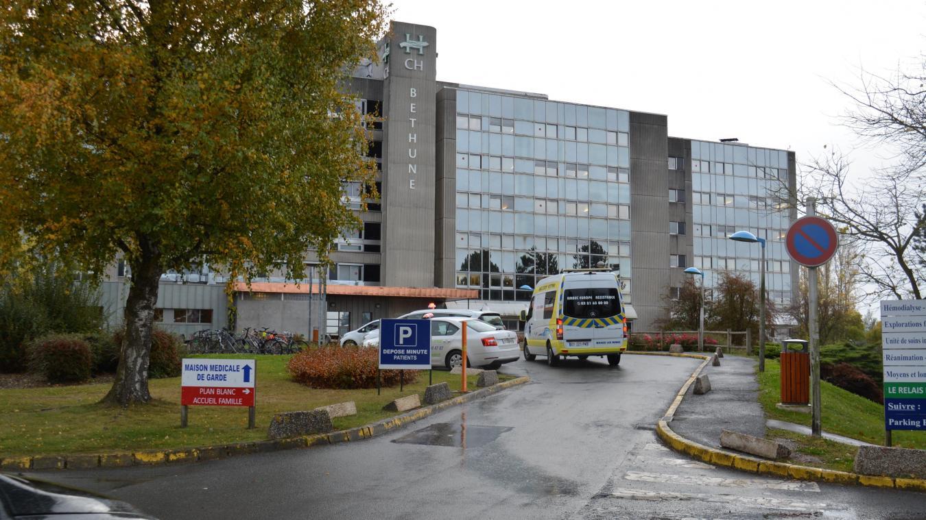 Le centre hospitalier de Béthune-Beuvry où a été accueilli l'enfant lillérois de 7 ans.
