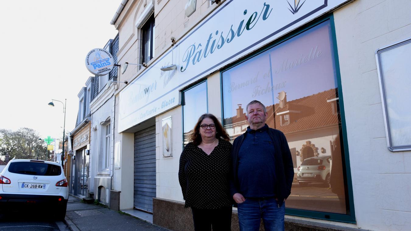 Murielle et Bernard Fricheux ont fermé leur boulangerie le 7 mars. Ils ont trouvé des repreneurs, un couple. Le commerce devrait rouvrir courant avril.