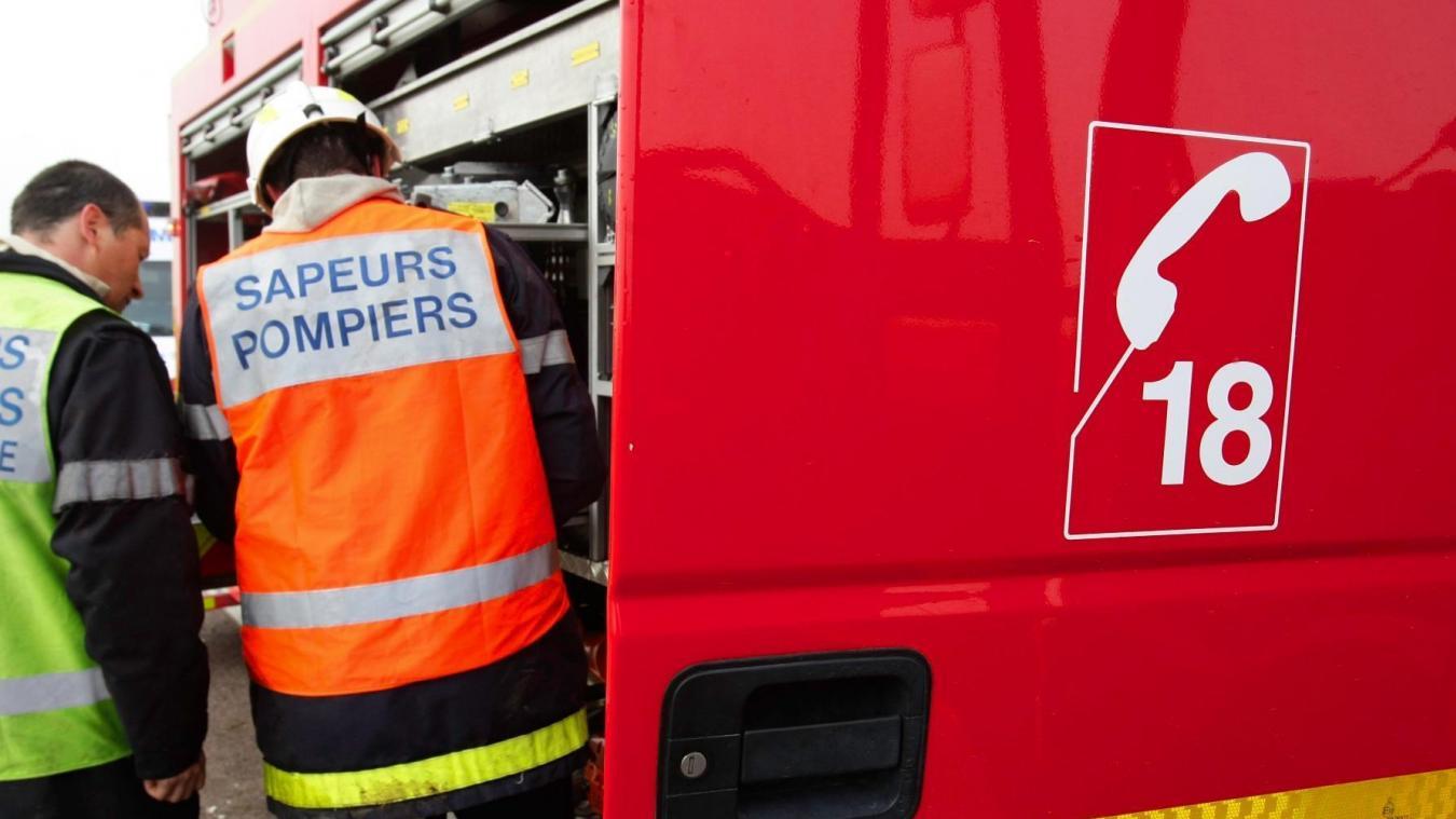 Les sapeurs-pompiers n'ont malheureusement pas pu sauver la victime. Photo d'illustration.