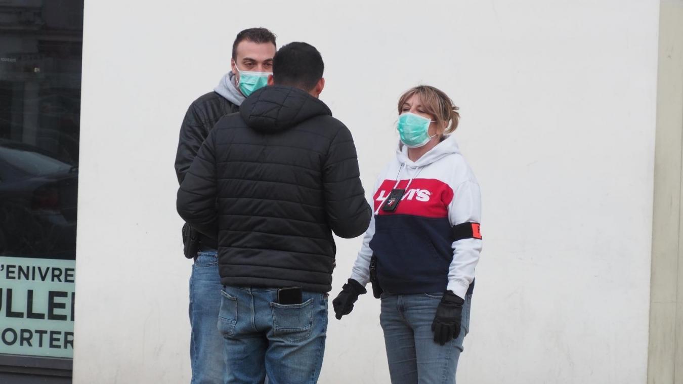 Inquiets, les policiers veulent pouvoir porter un masque lors de leurs interventions