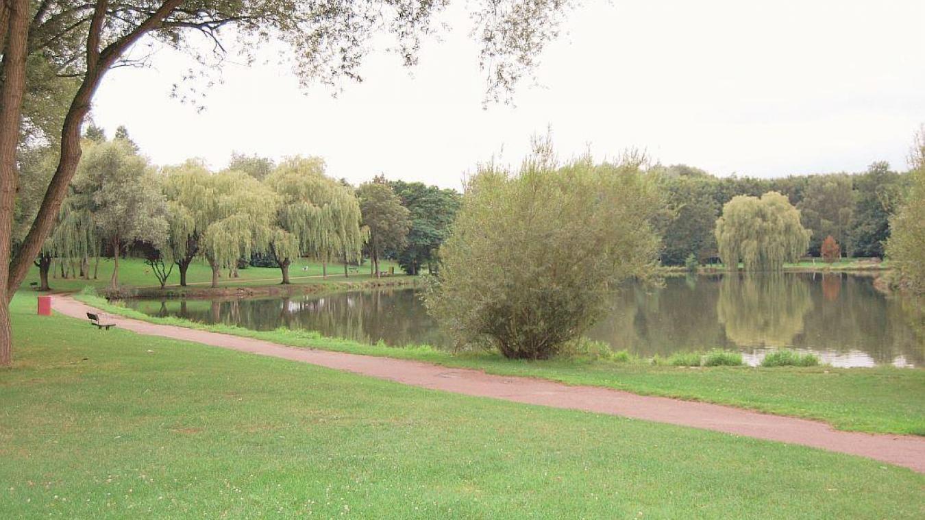 Le parc de la Glissoire fait parti des lieux interdit au public.