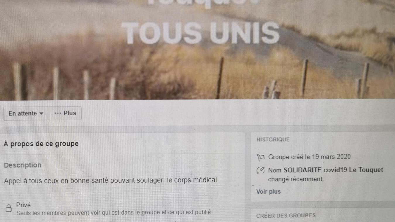 Médecins et infirmières du Touquet s'unissent sur la toile