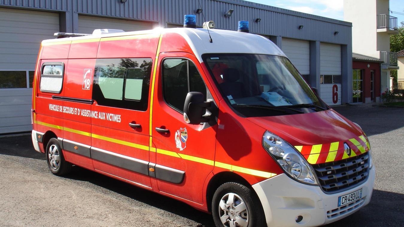 Les pompiers étaient en intervention de secours à victime.