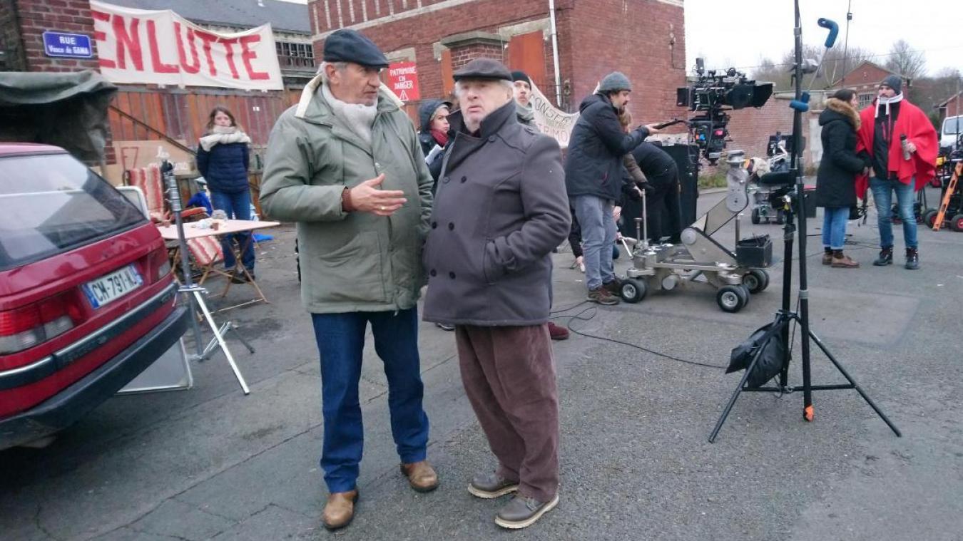 Les deux élus ont participé durant plus de dix jours au tournage (Archives).