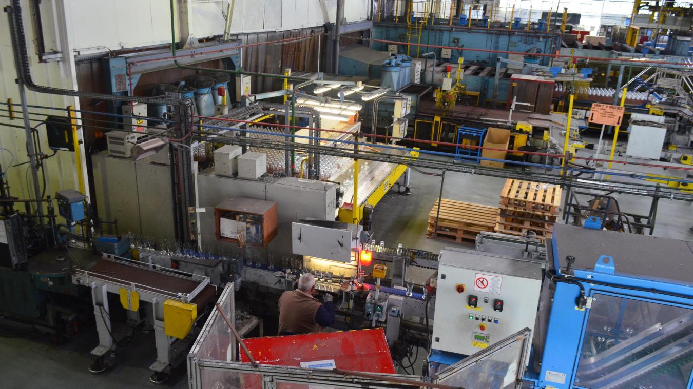 Depuis ce lundi 23 mars, les ateliers d'Arc tournent au ralenti avec seulement 700 salariés présents sur le site.