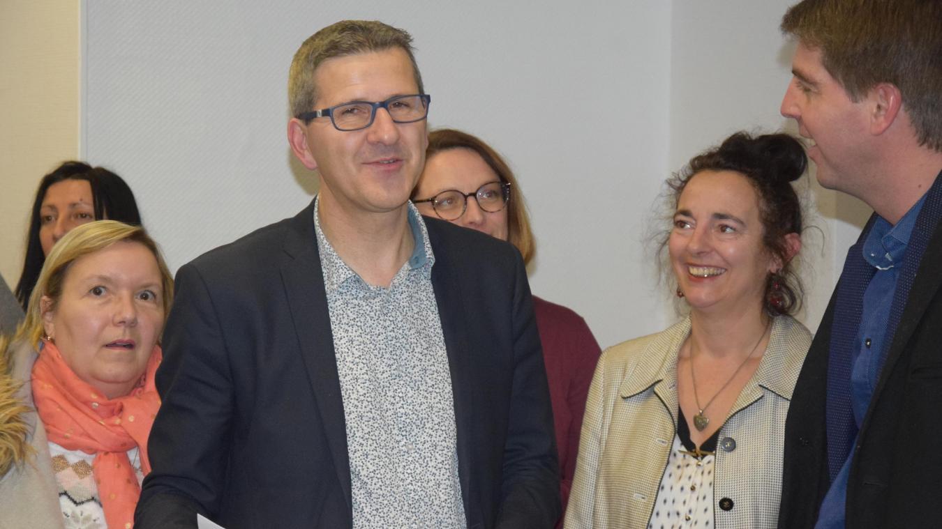 Jean-Luc Bouvier demande au maire la création d'une initiative solidaire pareille à d'autres villes.