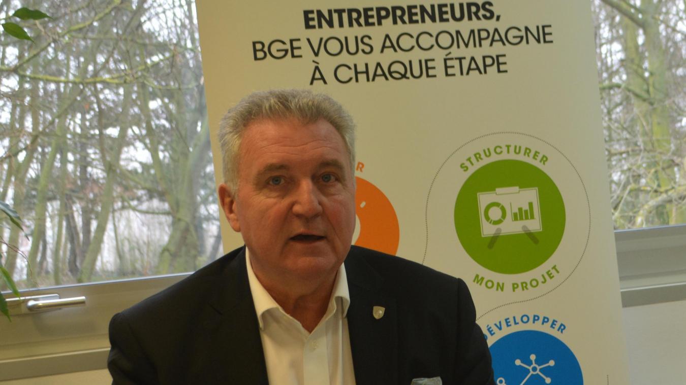 Déjà président du club de handball de l'USDK depuis dix ans, Jean-Pierre Vandaele va prendre la présidence de BGE Flandre création.