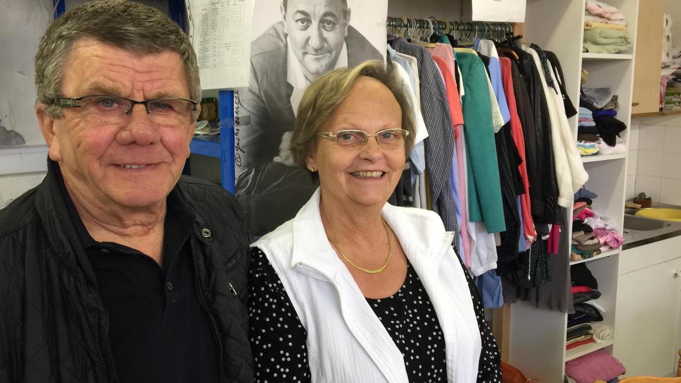 Daniel et Margaret Godin animent toute l'année la dizaine de bénévoles touquettois