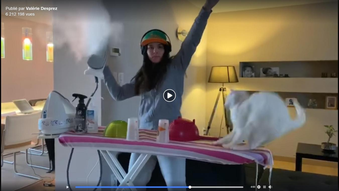 En seulement trois jours, la vidéo de Marie et son chat fait plus de 6 millions de vues sur Facebook.