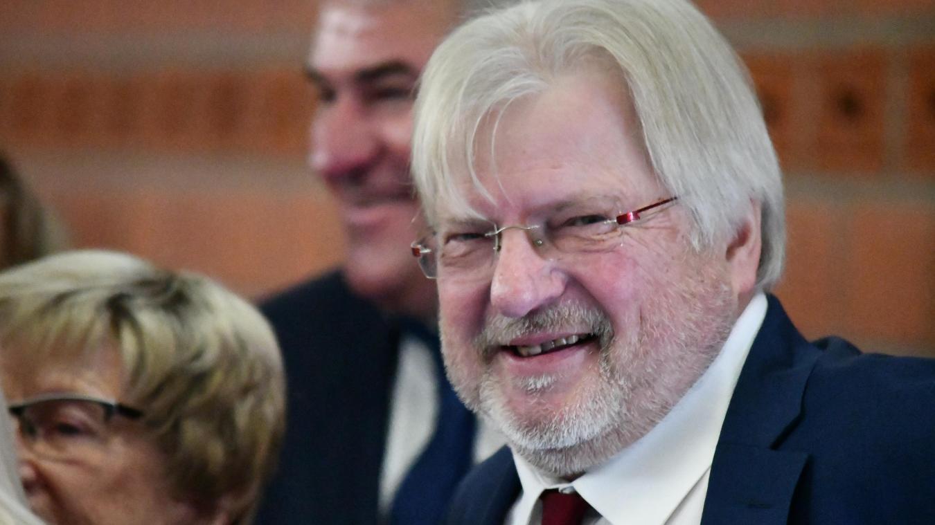 Le maire, ici en photo lors de la cérémonie des vœux, a été réélu. Il entame son sixième mandat au service des habitants de Spycker.