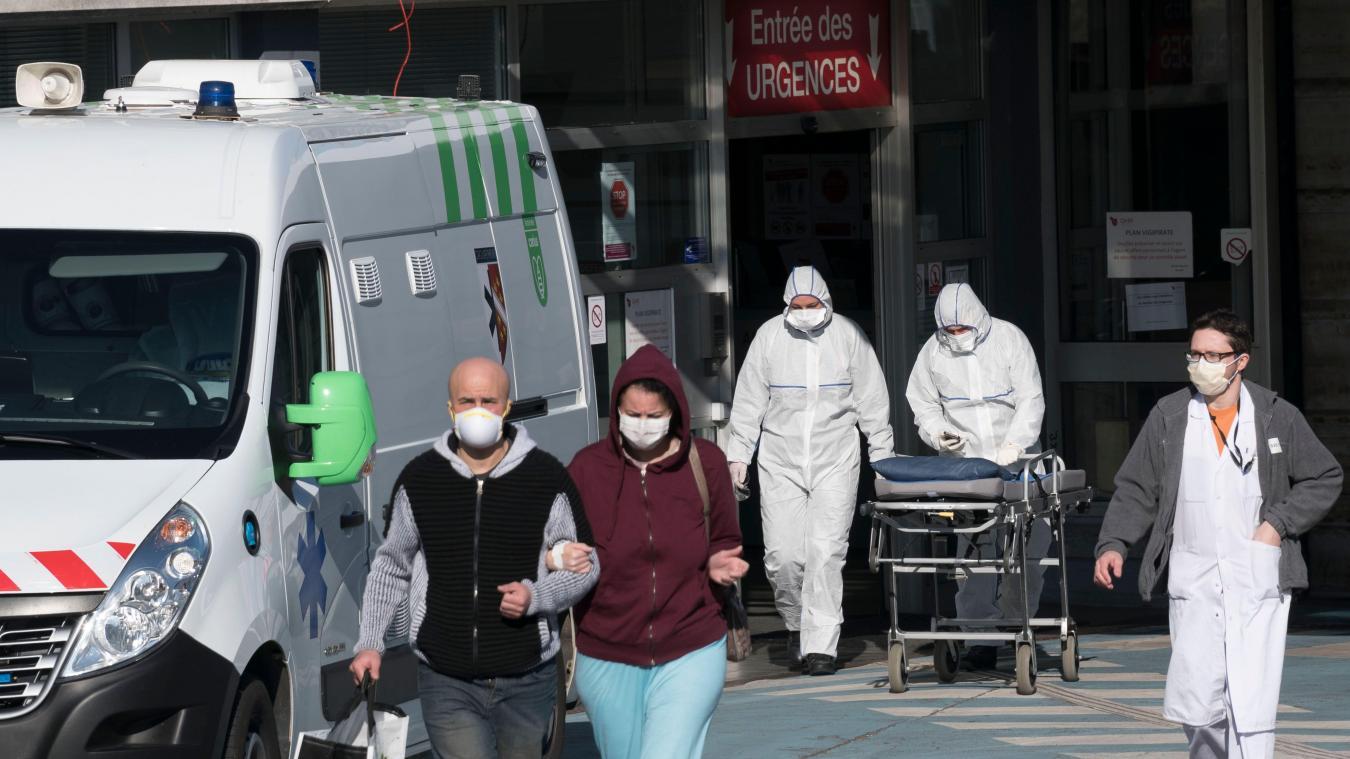 Depuis le 25 février, 123 personnes sont décédées du coronavirus dans les cinq départements des Hauts-de-France que sont le Nord, le Pas-de-Calais, la Somme, l'Aisne et l'Oise.