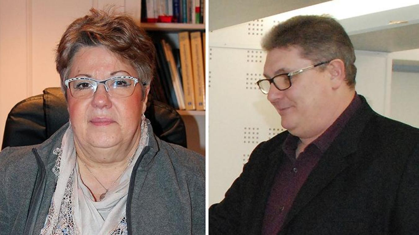 Patricia Géron et Franck Parmentier conduisaient une liste.