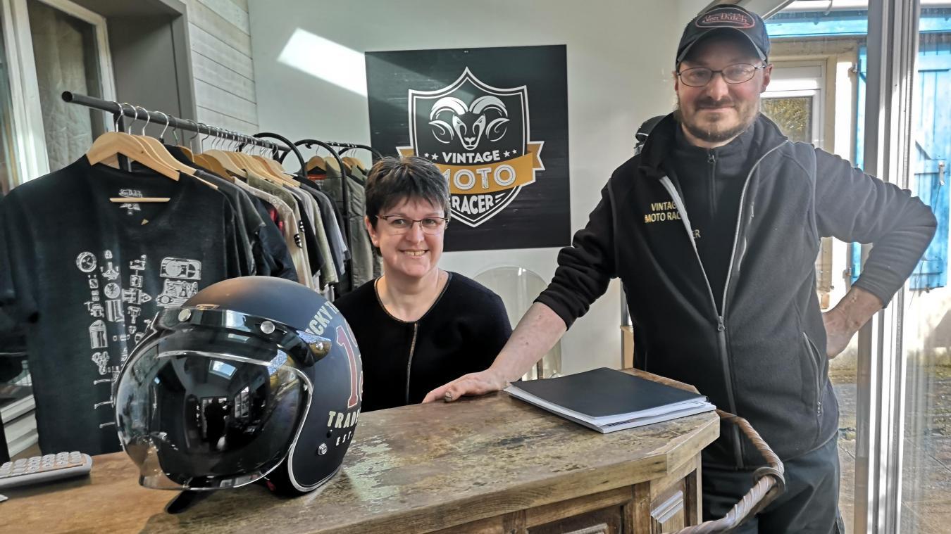 Ingrid et Grégory, des motards au service des motards. Mais avant tout, des professionnels rigoureux.