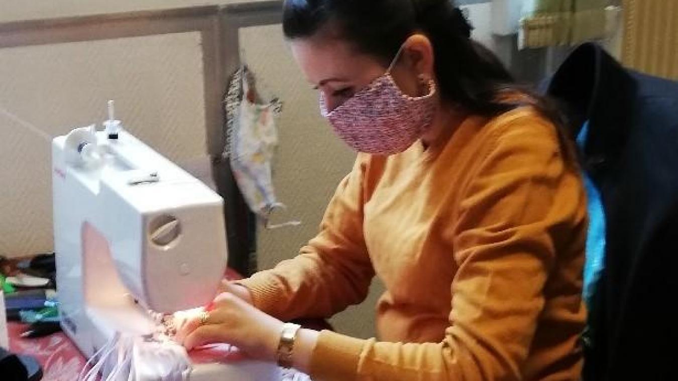 Près de 400 masques ont été confectionnés par Coud'pouce.