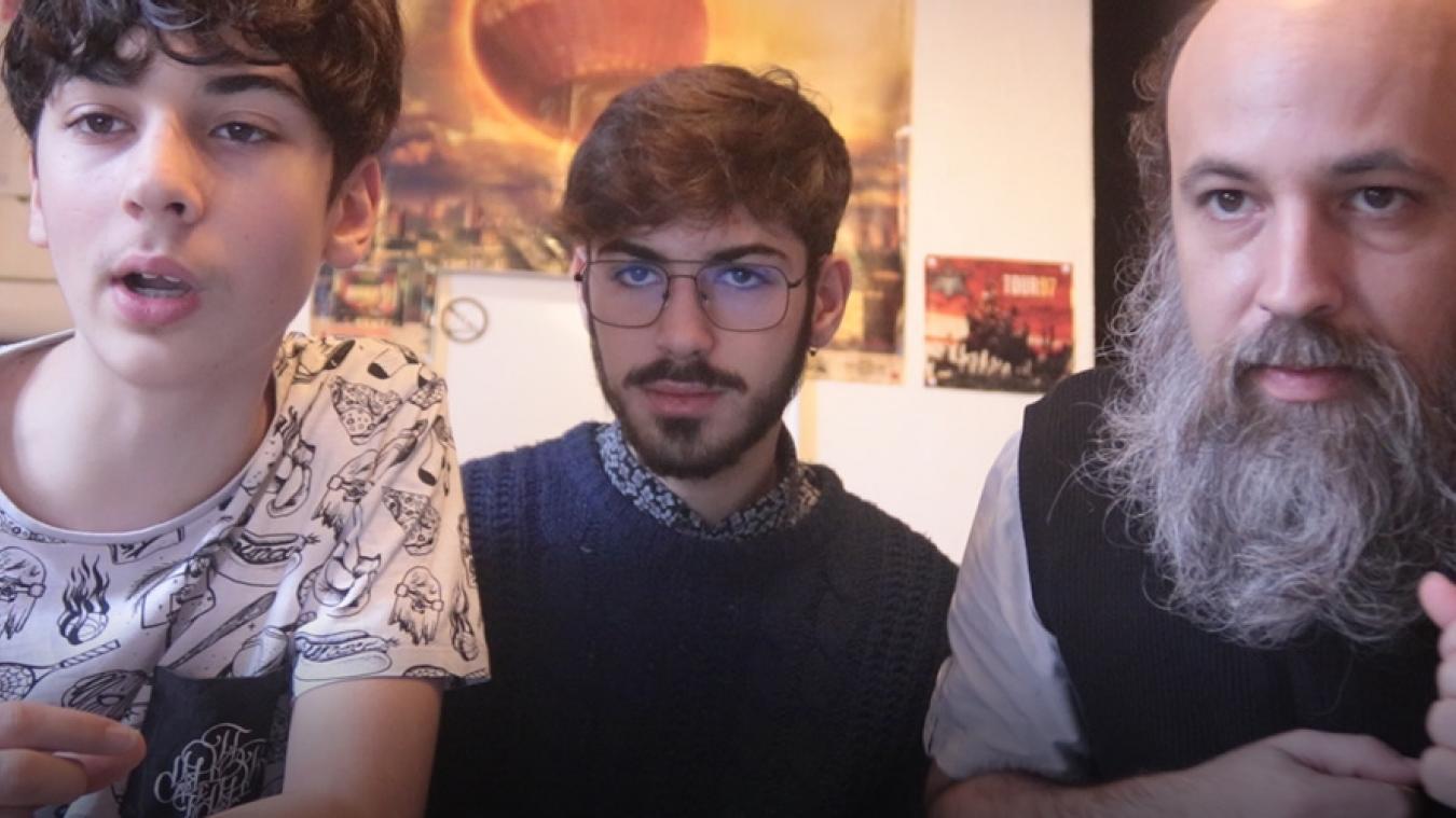 Macéo (RLT), Paolo (PM) et Matthieu, père et fils, sur un même morceau de rap à écouter sur Soundcloud.