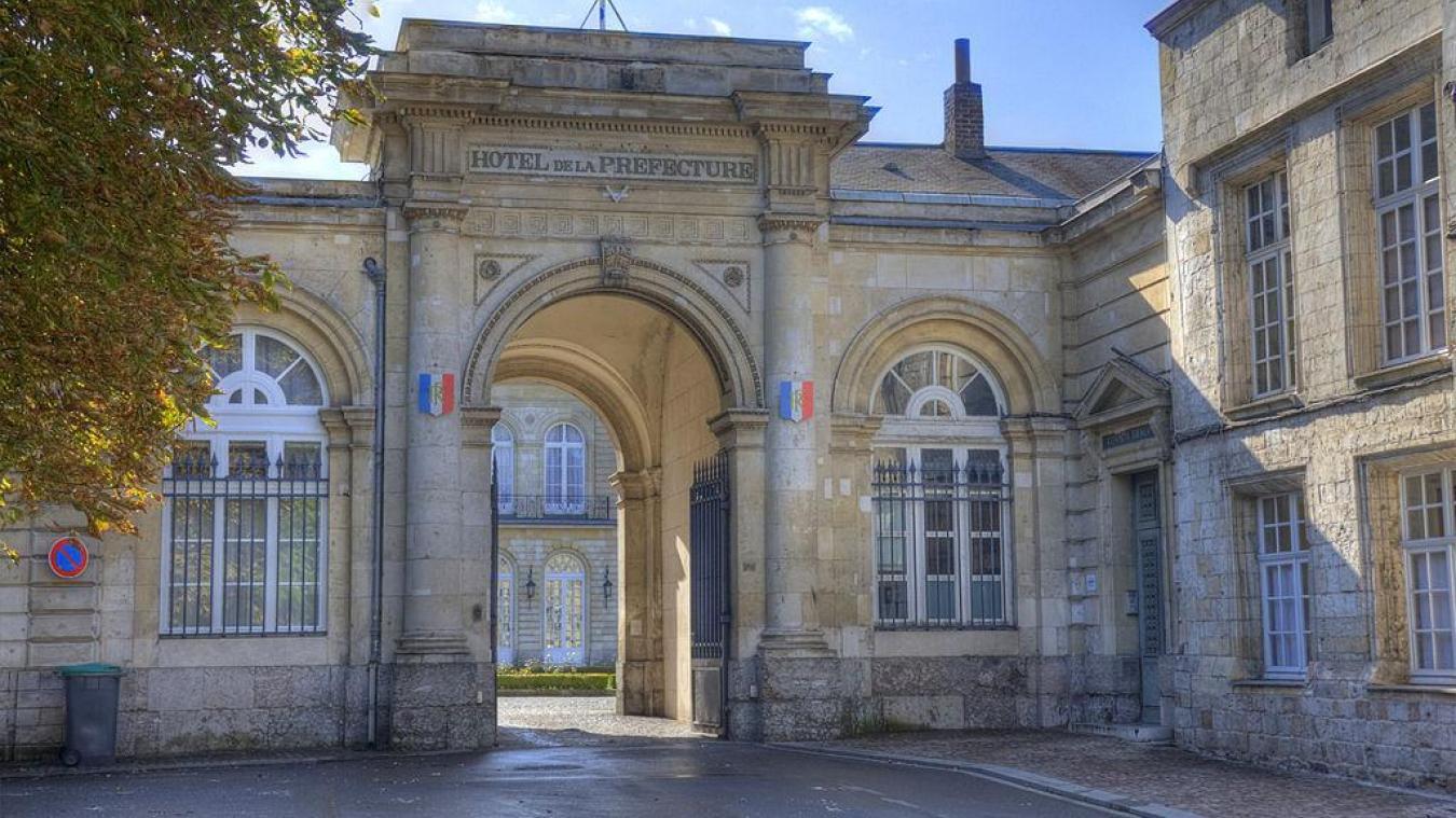 Cette disposition nationale a transité par les préfectures de région (comme ici à Arras) avant d'être transmise aux différentes sous-préfectures du département.