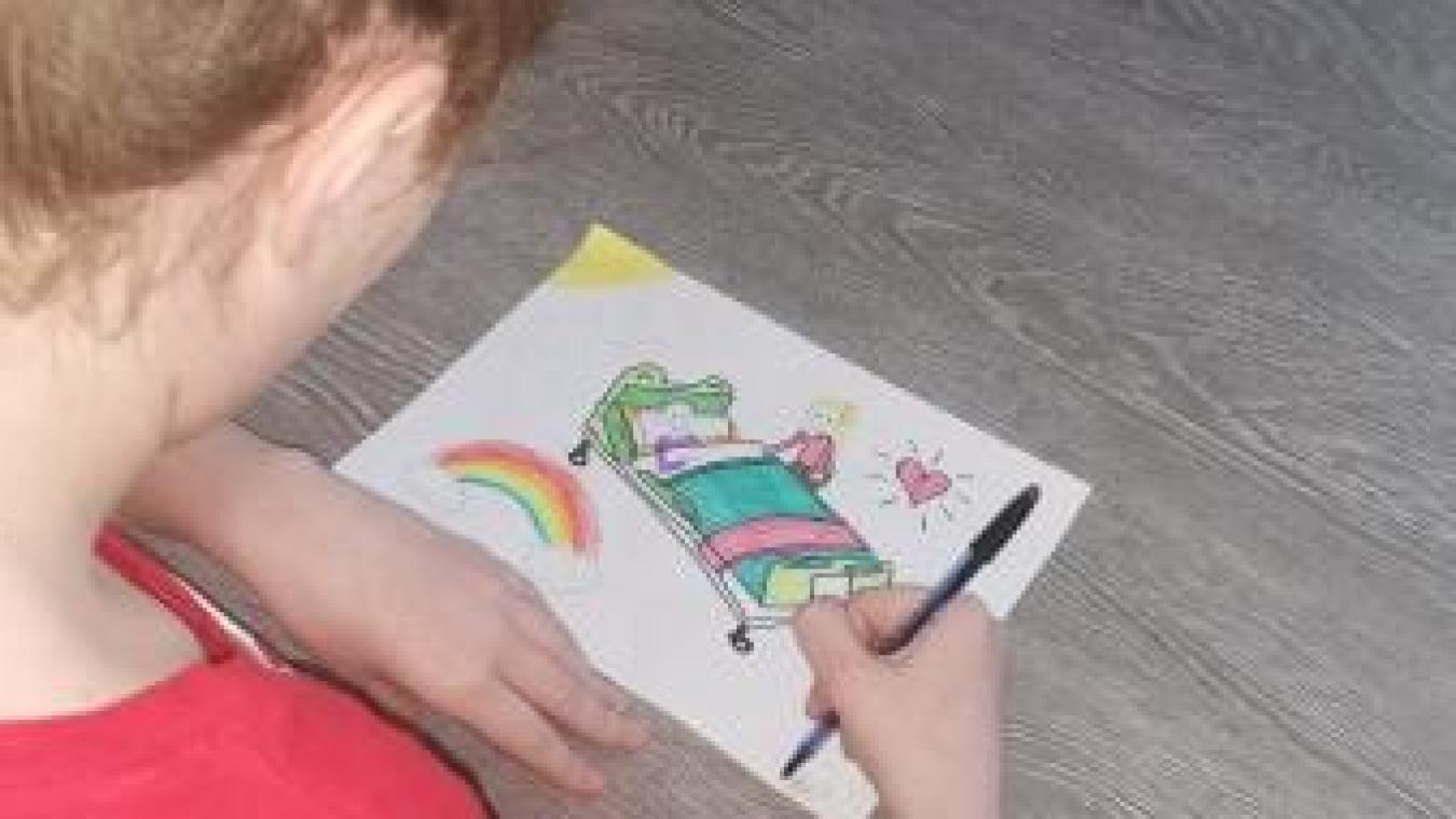 Méricourt: les enfants dessinent pour les seniors de l'Ehpad