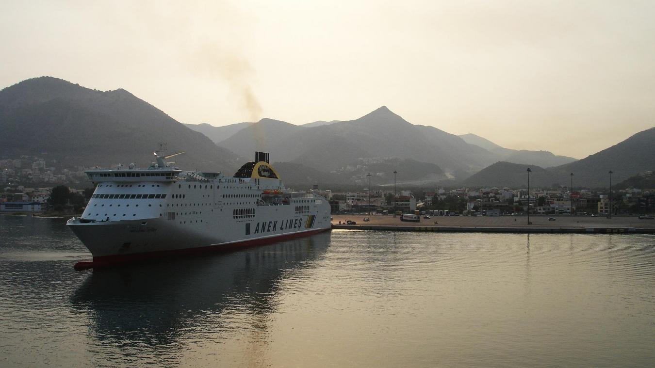 Les Hazebrouckois souhaitent prendre un ferry depuis Igoumenitsa pour rejoindre l'Italie. ©Pixabay