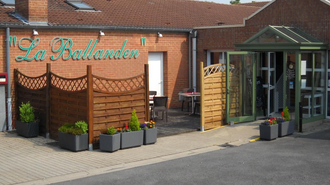 En cette période de crise sanitaire, le restaurant des Papillons Blancs « la Ballanden » est fermé. (photo archives)