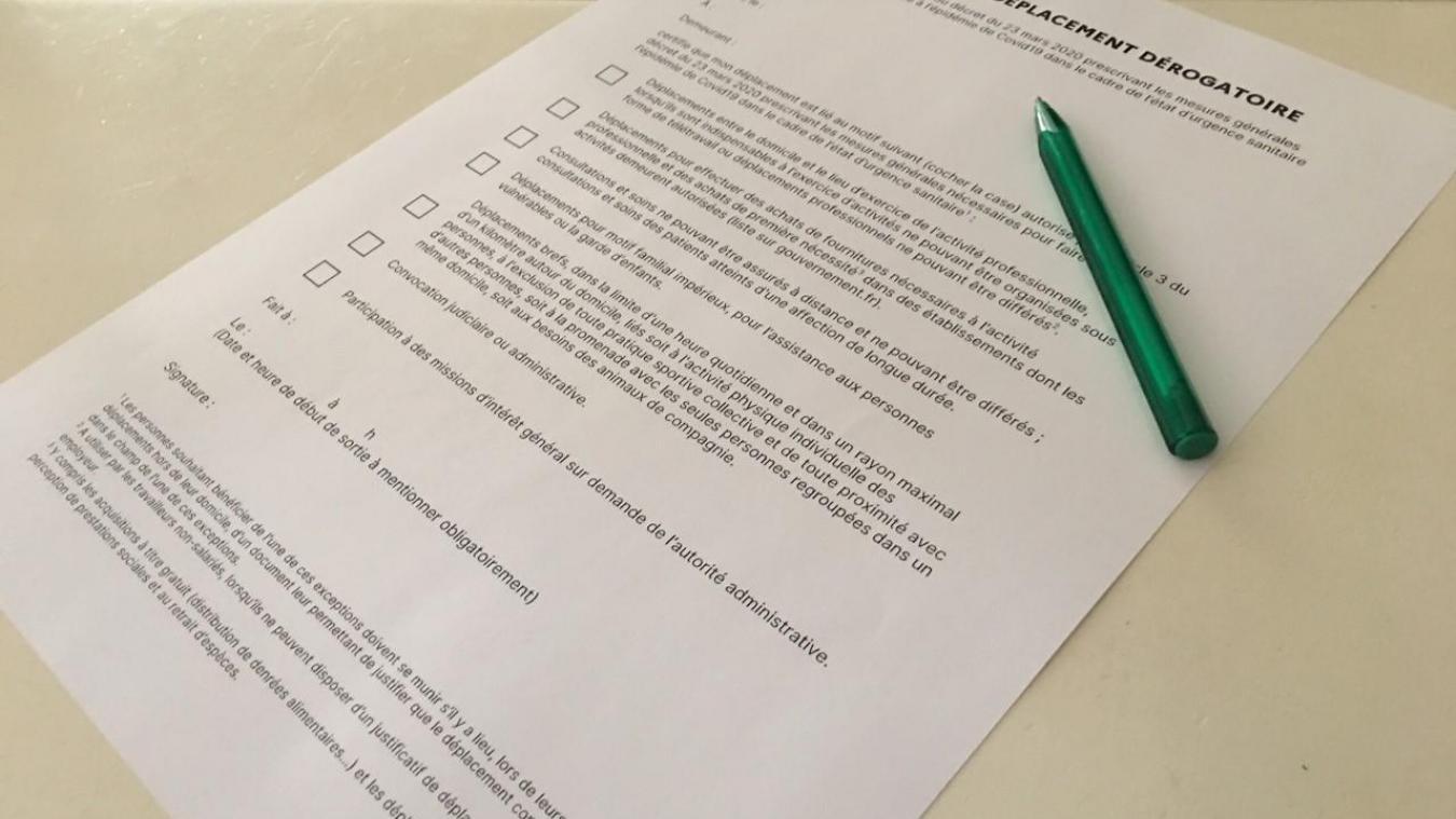 Indispensable en cas de contrôle, une nouvelle attestation est disponible en ligne depuis le mercredi 25 mars.