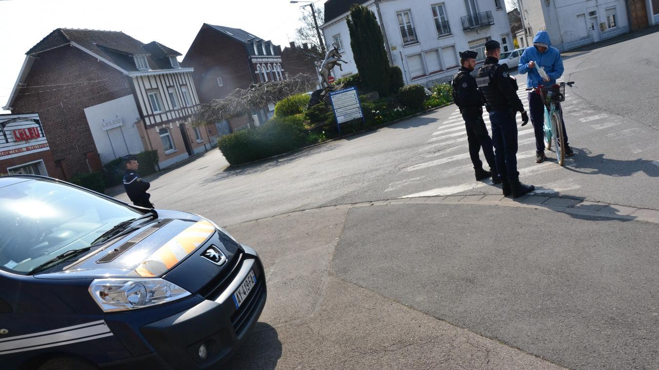 Les gendarmes de Flandre sur le terrain