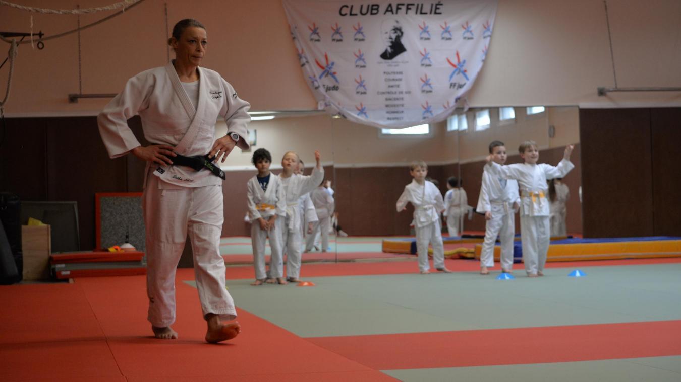 Les jeunes s'entraînaient toute la semaine sur les tatamis du Palais des sports de Damrémont avant le confinement.