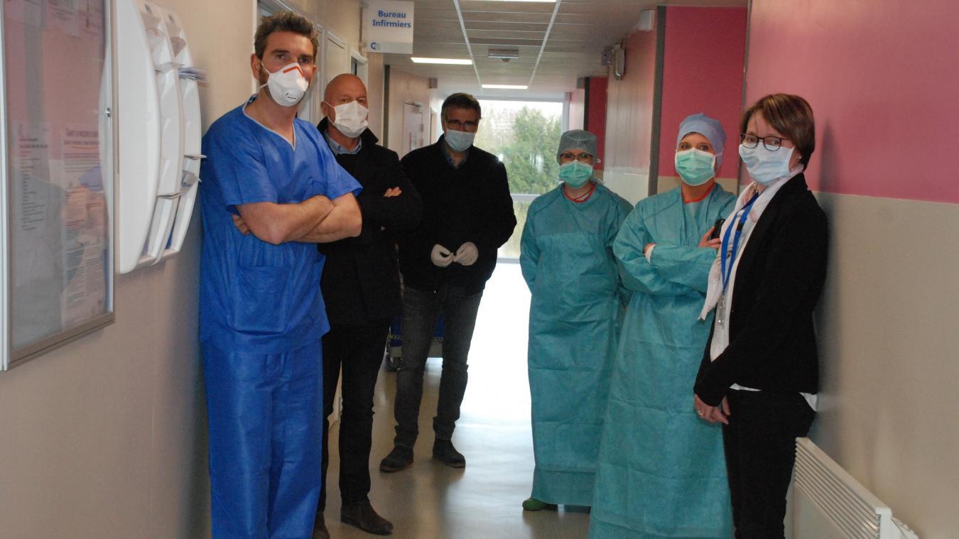 Les médecins du territoire et le personnel de la clinique sont mobilisés pour accueillir les patients.