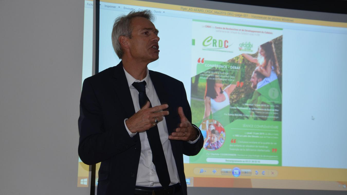 Frédéric Descamps, directeur général de l'Afapei, fait le point sur la situation sanitaire au sein du foyer d'accueil médicalisé.