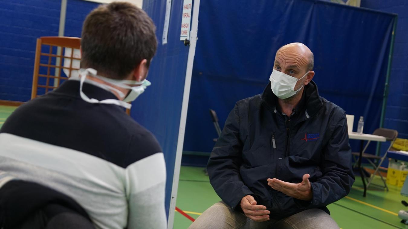 Thierry Mraovic de SOS Médecins fait le point sur l'épidémie à Dunkerque.